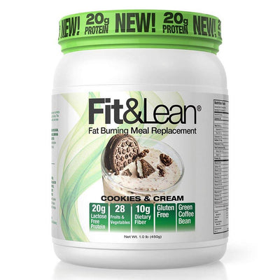 MHP Meal Replacement Powders Cookies and Cream MHP Fit and Lean 10 Servings (1742351269932)