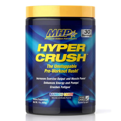 MHP Sports Performance Recovery Rainbow Candy MHP Hyper Crush 30 Servings (1742158790700)