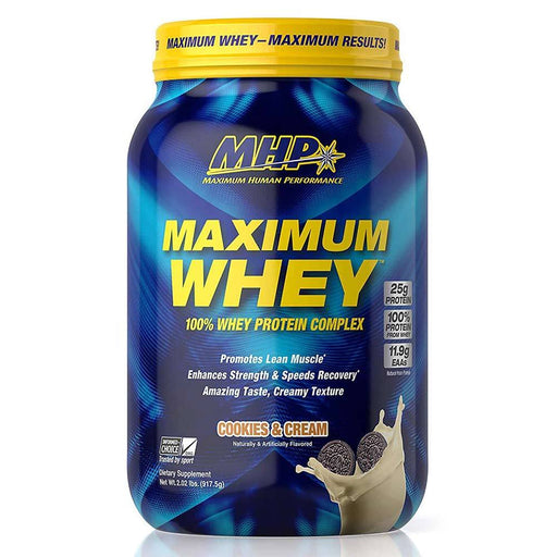 MHP Protein Powders Cookies and Cream MHP Maximum Whey 2lb (1789382852652)