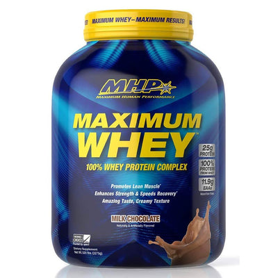 MHP Protein Powders Milk Chocolate MHP Maximum Whey 5lb (1789382787116)