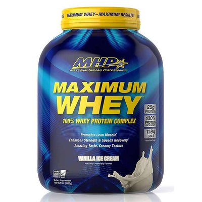 MHP Protein Powders Vanilla Ice Cream MHP Maximum Whey 5lb (1789382787116)