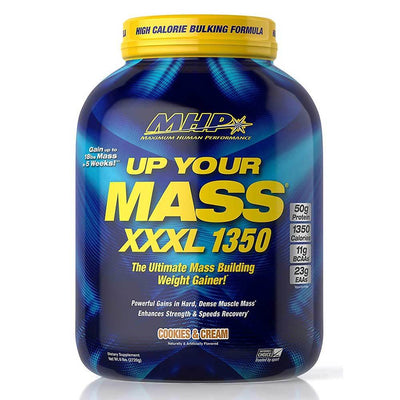 MHP Protein Powders Cookies and Cream MHP Up Your Mass XXXL 1350 6.8lbs (1742140571692)