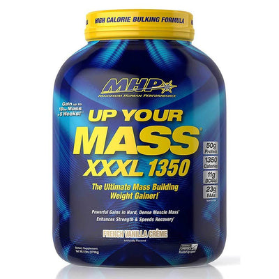 MHP Protein Powders French Vanilla Creme MHP Up Your Mass XXXL 1350 6.8lbs (1742140571692)