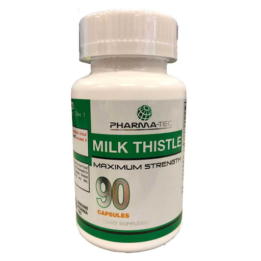 Pharma-Tec Vitamins, Minerals, Herbs & More Pharma-Tec Milk Thistle 90 Caps (581972459564)