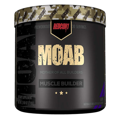 Redcon 1 Weight Gain Grape Redcon1 MOAB 30 Servings (1411787751468)