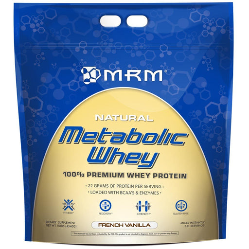 MRM Sports Nutrition & More Rich Chocolate MRM Metabolic Whey 10 Lbs (580971626540)