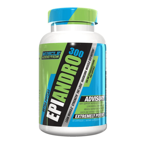 Muscle Addiction Specialty Health Products Muscle Addiction EpiAndro 300 60 Capsules (4373271871603)