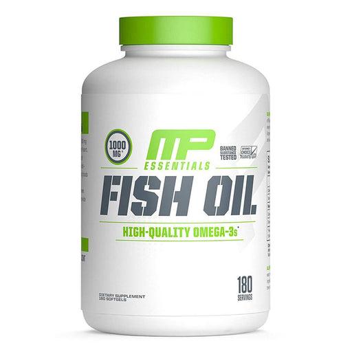 Muscle Pharm Essential Fatty Acids & - Oils Default MusclePharm Fish Oil 180SG (1654349103148)