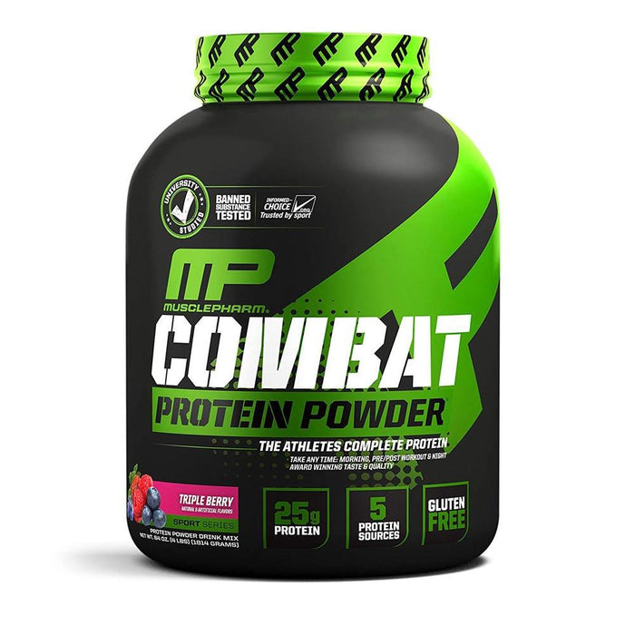 Muscle Pharm Sports Nutrition & More Vanilla Muscle Pharm Combat Sport Powder 4 Lbs (581491523628)