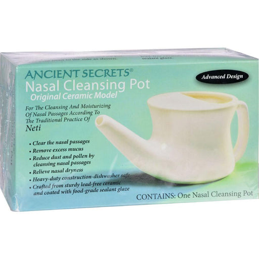 Ancient Secrets Sports Nutrition & More Ancient Secrets Nasal Cleansing Pot (NETI) 1 Unit (581104959532)
