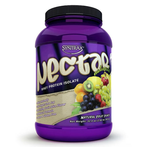 Syntrax Sports Nutrition & More Fruit Punch Syntrax Nectar Naturals 2 Lbs (580847894572)