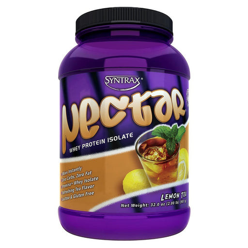 Syntrax Sports Nutrition & More Lemon Tea Syntrax Nectar 2 Lbs (580669472812)