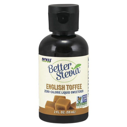 Now Foods Vitamins, Minerals, Herbs & More Now Foods Better Stevia English Toffee Liq 2 Oz (582198231084)