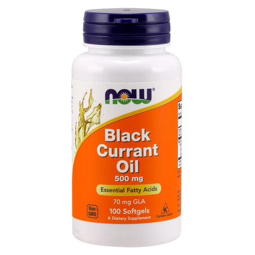 Now Foods Vitamins, Minerals, Herbs & More Now Foods Black Currant Seed Oil 500mg 100 Soft Gels (581602508844)
