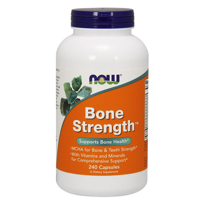 Now Foods Vitamins, Minerals, Herbs & More Now Foods Bone Strength 240 Capsules (582273105964)