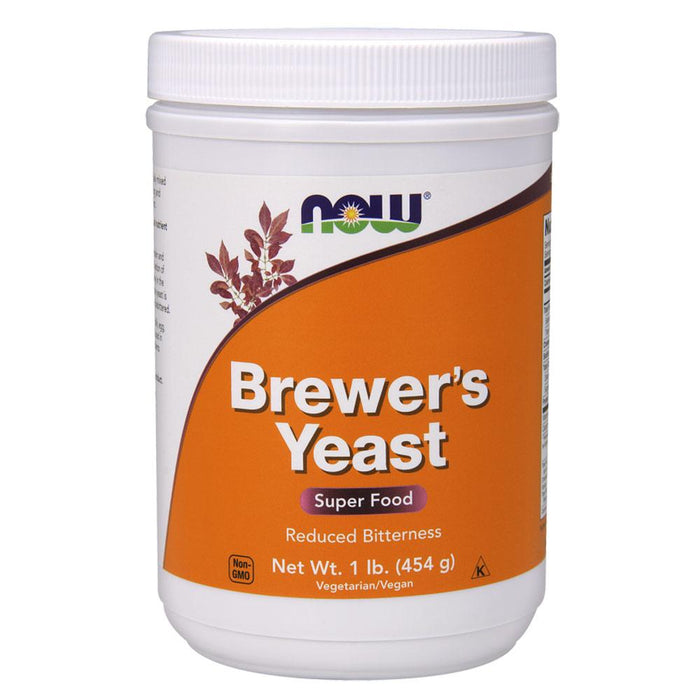 Now Foods Vitamins, Minerals, Herbs & More Now Foods Brewers Yeast 1 Lb (581642420268)