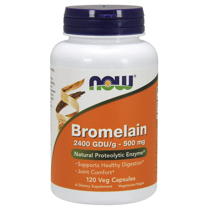 Now Foods Joint Aid Now Foods Bromelain 500mg 120 Vege Caps (581992644652)