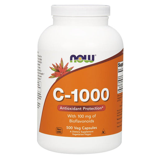 Now Foods Vitamins, Minerals, Herbs & More Now Foods C-1000 500 Capsules (582252920876)