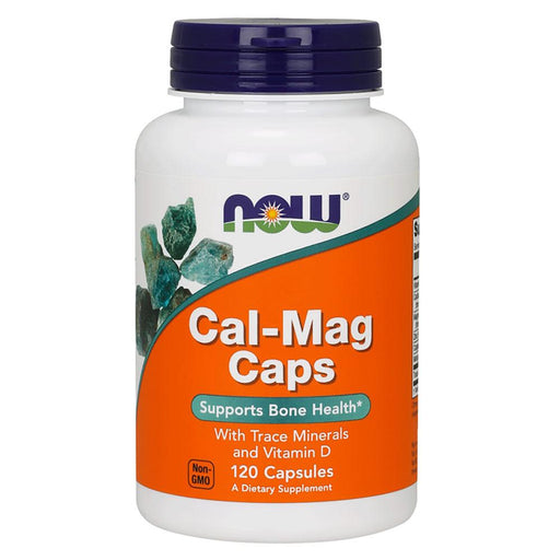 Now Foods Vitamins, Minerals, Herbs & More Now Foods Cal-Mag 120 Capsules (582188859436)