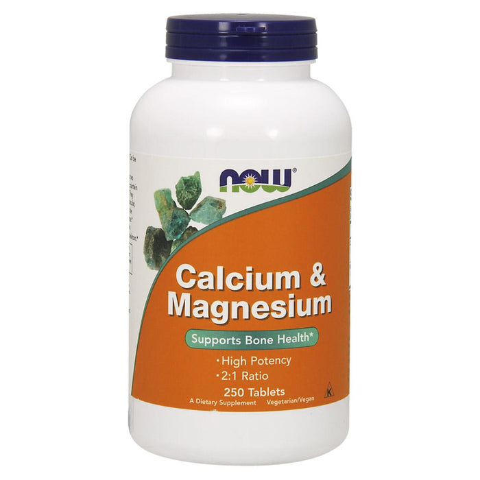 Now Foods Vitamins, Minerals, Herbs & More Now Foods Cal-Mag 500/250 Mg 250 Tablets (582184599596)