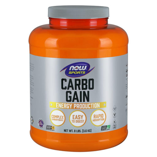 Now Foods Sports Nutrition & More Now Foods Carbo Gain 8 lbs (580736155692)