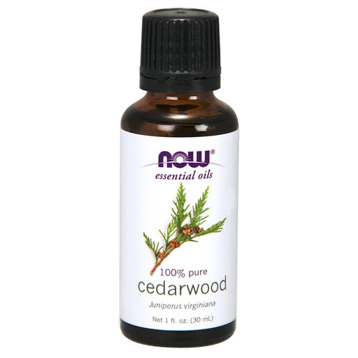 Now Foods Vitamins, Minerals, Herbs & More Now Foods Cedarwood Oil 1 Oz (582173294636)