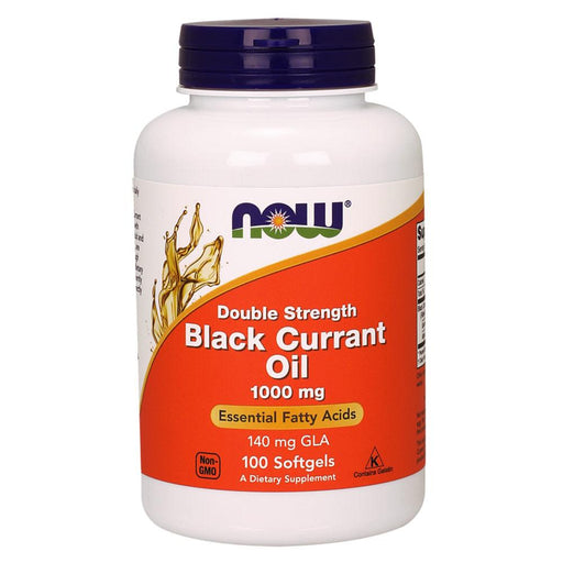 Now Foods Vitamins, Minerals, Herbs & More Now Foods Black Currant Oil 1,000 Mg 100 Softgels (582277300268)