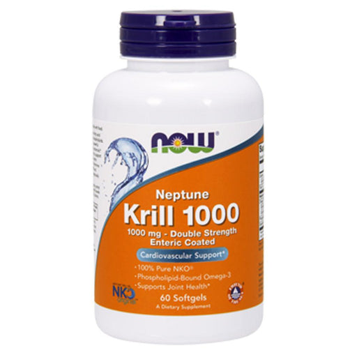 Now Foods Vitamins, Minerals, Herbs & More Now Foods Neptune Krill Oil 1000 Mg 60 Softgels (582149767212)