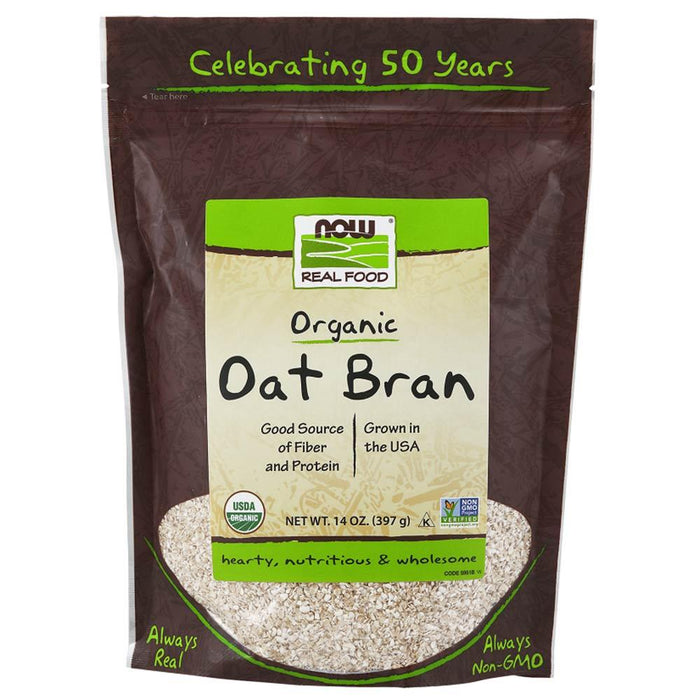 Now Foods Vitamins, Minerals, Herbs & More Now Foods Oat Bran 14oz (580558716972)