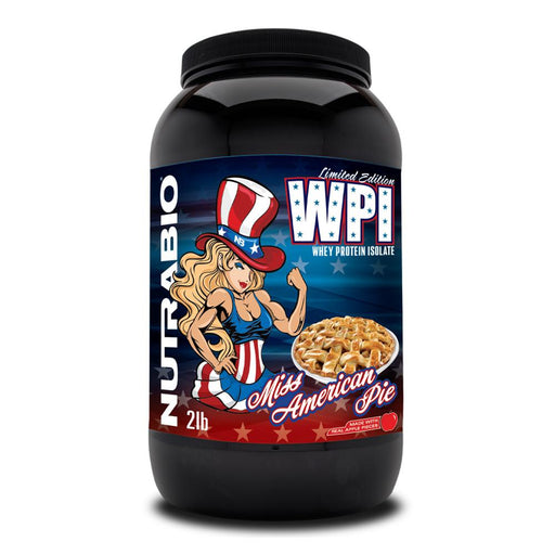 NutraBio Protein Powders NutraBio 100% Whey Protein Isolate 2lb (4380743434355)