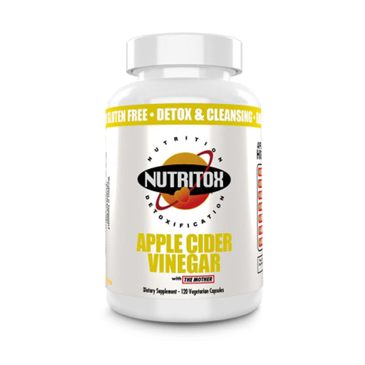 Nutritox Specialty Health Products Nutritox Apple Cider Vinegar 120vc (4327980105843)