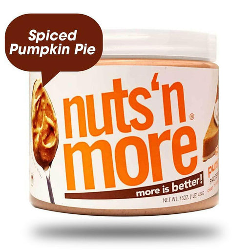 Nuts 'N More Sports Nutrition & More Nuts 'N More Pumpkin Spice Peanut Butter 16 Oz (582512410668)