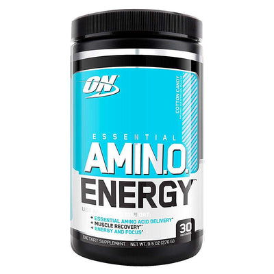 Optimum Nutrition Sports Nutrition & More Cotton Candy Optimum Nutrition Amino Energy 30 Servings (581173674028)