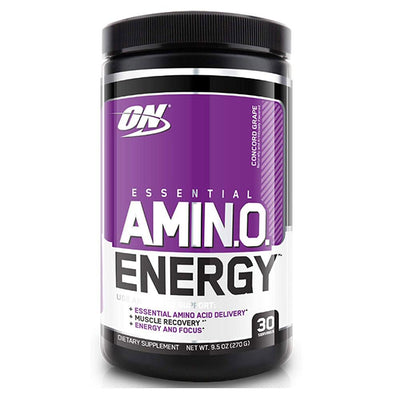 Optimum Nutrition Sports Nutrition & More Concord Grape Optimum Nutrition Amino Energy 30 Servings (581173674028)