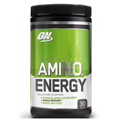 Optimum Nutrition Sports Nutrition & More Green Apple Optimum Nutrition Amino Energy 30 Servings (581173674028)