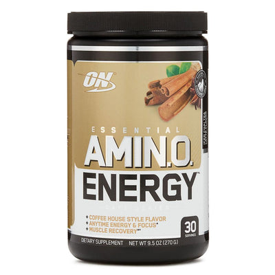 Optimum Nutrition Sports Nutrition & More Iced Chai Tea Latte Optimum Nutrition Amino Energy 30 Servings (581173674028)