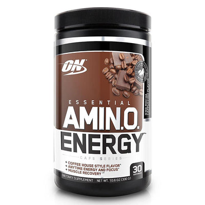 Optimum Nutrition Sports Nutrition & More Iced Mocha Cappuccino Optimum Nutrition Amino Energy 30 Servings (581173674028)
