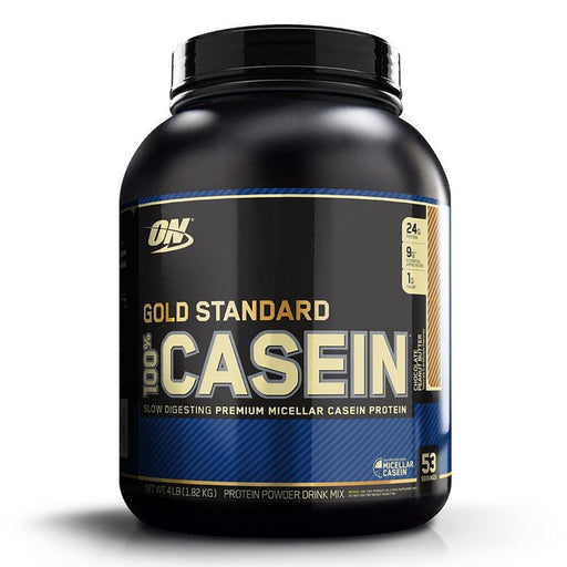 Optimum Nutrition Sports Nutrition & More Chocolate Peanut Butter Optimum Nutrition 100% Casein 4 Lbs (580853694508)