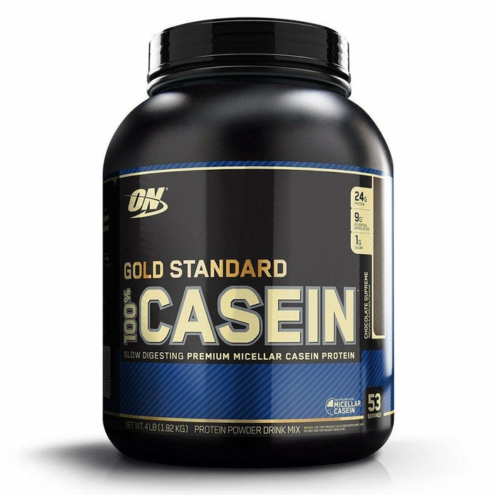 Optimum Nutrition Sports Nutrition & More Chocolate Supreme Optimum Nutrition 100% Casein 4 Lbs (580853694508)