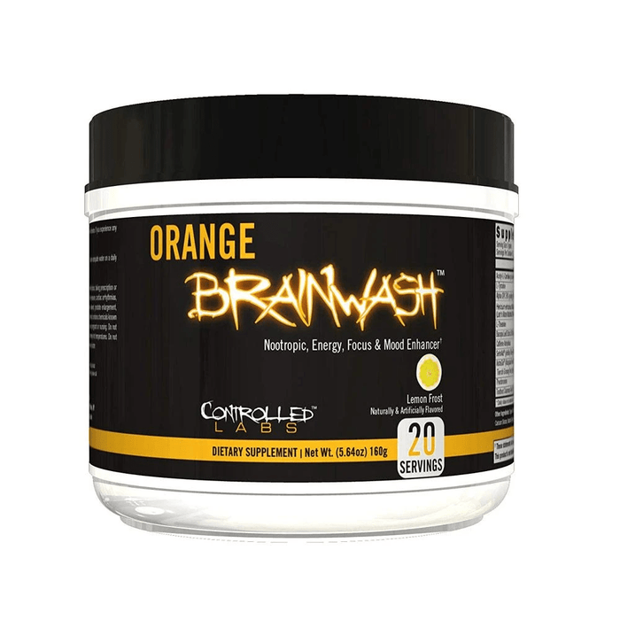 Controlled Labs Specialty Health Products CL Orange BrainWash 20 Servings