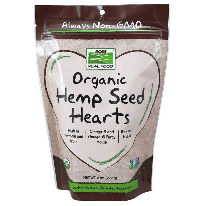 Now Foods Foods & - Juices Default Now Foods Hemp Seed Hearts 8oz (1821159358508)