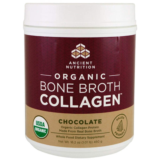 Ancient Nutrition Protein Powders Chocolate Organic Bone Broth Collagen (1166404059180)
