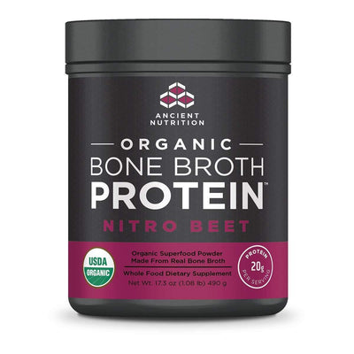 Ancient Nutrition Protein Powders Nitro Beet Ancient Nutrition Organic Bone Broth Protein (1392046047276)
