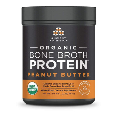 Ancient Nutrition Protein Powders Peanut Butter Ancient Nutrition Organic Bone Broth Protein (1392046047276)