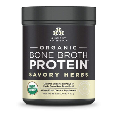 Ancient Nutrition Protein Powders Savory Herbs Ancient Nutrition Organic Bone Broth Protein (1392046047276)