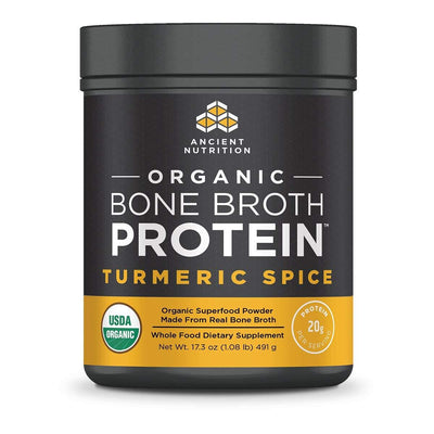 Ancient Nutrition Protein Powders Turmeric Spice Ancient Nutrition Organic Bone Broth Protein (1392046047276)