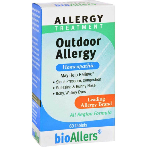 Natra-Bio Vitamins, Minerals, Herbs & More Natra-Bio Bioallers Outdoor Allergy 60 Tablets (580820959276)