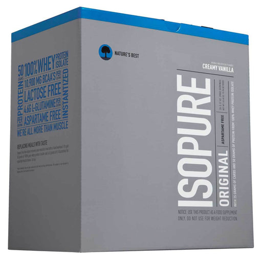 Nature's Best Sports Nutrition & More Creamy Vanilla Nature's Best Isopure Low Carb 20 Pack (580548395052)