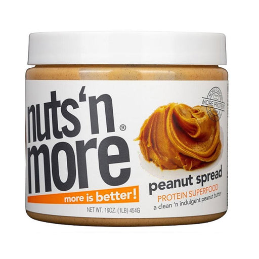 Nuts 'N More Sports Nutrition & More Nuts 'N More Peanut Butter 16 Oz (581901058092)