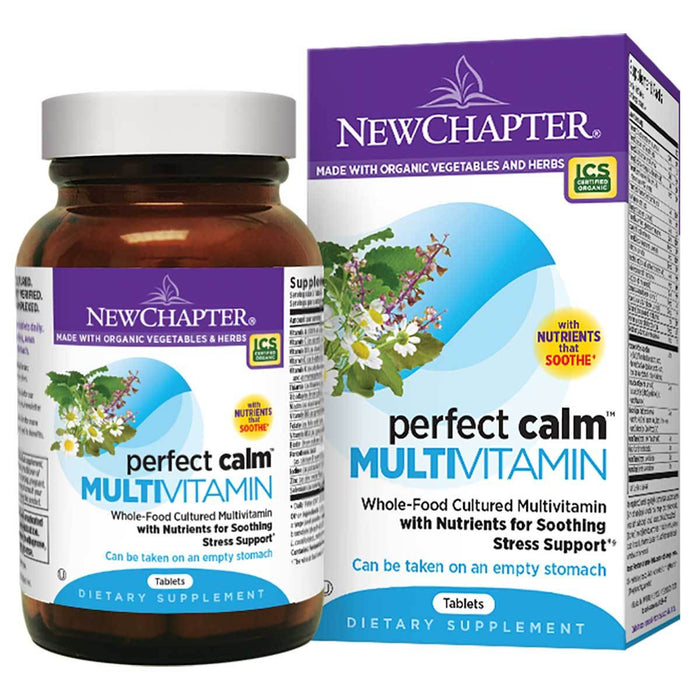 New Chapter Vitamins, Minerals, Herbs & More New Chapter Perfect Calm Multivitamin 24 Tabs (581214732332)